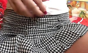 Young mendicant fucks a teen under her mini skirt
