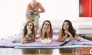 Brazilian Teen Step-Sister Gina Valentina And Her Friends Fucked - Latinacore xxx2020.pro