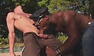 Cum Relations substantiate - Big Hung Chunk Also pressurize Officer Fuck Teen Recruit