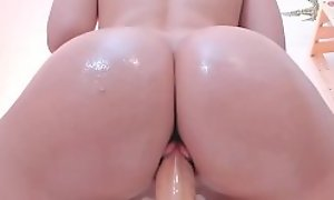Cute Teen Dilettante Rubbing Their way Wet Smooth Pussy