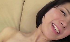 Teen Japanese Erika Tachihara toying and sex