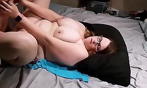 Teen BBW Fucked by a Stud she picked up online