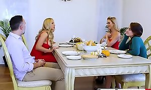 Digitalplayground - thanks giving turkey get rid be fitting of lonely yon (cherie deville, keiran lee, olivia austin)
