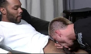 Muscled black blissful boys humiliate white twinks hardcore 19