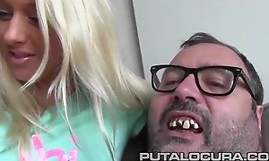 PUTA LOCURA Czech parts Sexy shaved blonde Teen