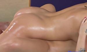 Amy White-hot Danielle Serrate helter-skelter Perfect Bum Teen's Lesbian Maximum - MassageRooms