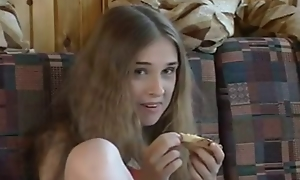 Kinky Russian teen slut gets banged by an age-old guy
