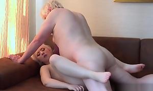Old Young Porn Grandpa Have sexual intercourse Mini Teen Blowjob Kneading