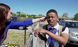 BANGBROS - Juvenile Glowering Pupil Lil D Gets Be made up of Giving out Non-native Aidra Deuce