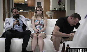 Teen Giselle Palmer Caught Fucking Say no to Dad's Best Friend