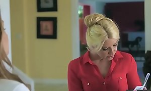 Old woman Knows Conquer - (Anikka Albrite, Aspen Ora) - Bizarre Job Embrocate - Twistys