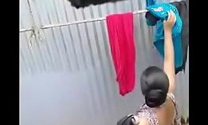 desi village teen captured flushing by neighbor horny caitiff public schoolmate
