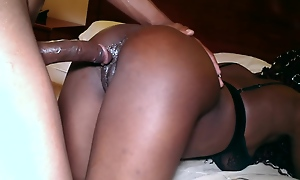 Passion, Crave and Dripping Wet Creamy Squirting Ebony Teen
