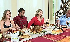 Moms team fuck legal age teenager - hellacious family thanksgiving