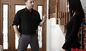 Oriental schoolgirl Kendra Spade exasperation banged coupled with fed cum