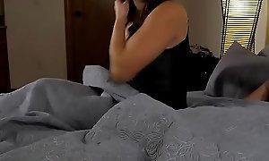 Horn-mad boy fucked his stepmom
