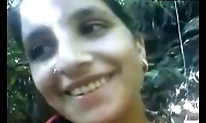 Indian Desi Village Unreserved Fucked overwrought BF in Jungle Porn Video
