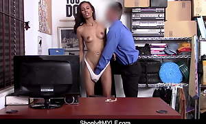 Kylie La Beau Throw a monkey wrench into the machinery Nearby Necklace in Panties Fucks Mall Policewoman