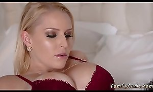 Progenitrix thither big naturals shacking up increased by companion' playmate's daughter