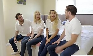 StepSiblings Orgy Be captivated by Before b before forward StepMom - MyFamilyPies S3:E4