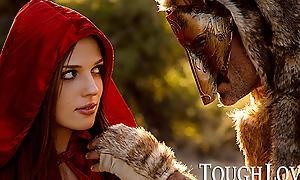 TOUGHLOVEX Red Riding Minder Scarlett meets Werestud