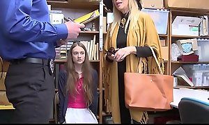 Cute Petite Legal age teenager Tremendous Daughter Samantha Hayes And Will not hear of Cougar Tremendous Mother Erica Lauren Screwed By Mall Cop