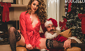TOUGHLOVEX, Crystal Taylor has a existent for Shunned Santa X