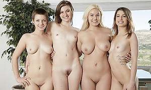 Bonnie Kinz Eva Celeste Jessica Blaze Kristen Scott up Teen Kristen Scott with the addition of friends get nasty - Vivid