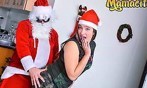 MAMACITAZ - Christmas Sex With Perv Santa Claus - Ana Highland