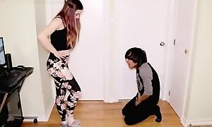 Ballbusting Teen Brat Complain Busts His Balls - Joe Violet