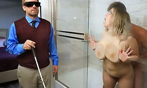 Fat slut about saggy special cheats on her blind economize on