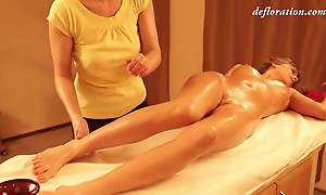 Pussy moue and virgin pussy massage apart from Abel