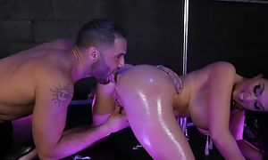 Stripper Brooke Beretta story plugola be beneficial to body, does blowjob, hot anal sexual relations there cumshot