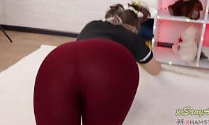 Will you cum on my panties? Mock-pathetic my leggings?XSanyAny