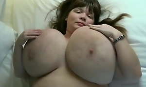 Brunette Bbw With Her Delicious Monster Tits