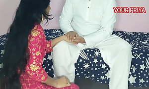 Tharki Sasur fucked not roundabout hard with YOUR PRIYA, Hindi Roleplay sex