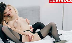 WHITE BOXXX – Sexy Lesbians Sabrisse & Aislin Take a crack at Sinful Sex - Full!