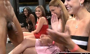 32 Rich milfs blowing strippers at underground cfnm party!06
