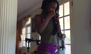Hot Jamaican Ebony Teen Dancer