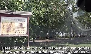 Hungarian guy fucks domineer stranded teen in his van