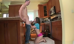 Teen line first majority The Plumber gets His Chirr Cleaned