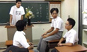 Hot Asian teen in school uniform pounded overwrought hard cock!