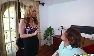 StepMom Julia Ann 3some with Freulein Abby Lee Brazil
