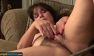 Patriarch mature hotelier Lori toying by EuropeMature
