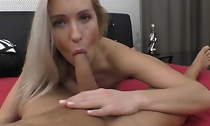 Automated European spoil with upfront breasts gets nicely fucked