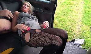 Stubborn kirmess MILF gets fucked by horny hansom cab driver